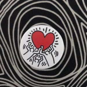 Accessories - Keith Haring Pop Socket (With Adhesive)